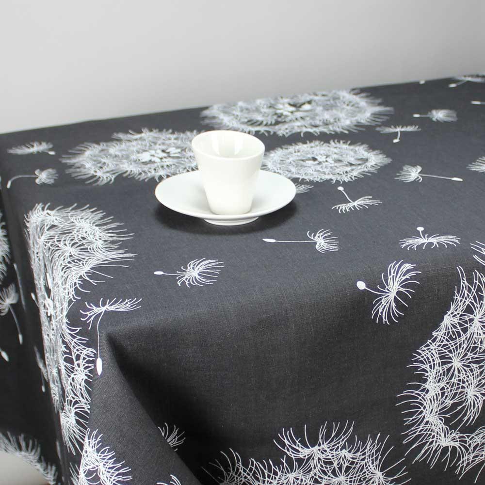 nappe en lin gris anthracite table de cuisine. Black Bedroom Furniture Sets. Home Design Ideas
