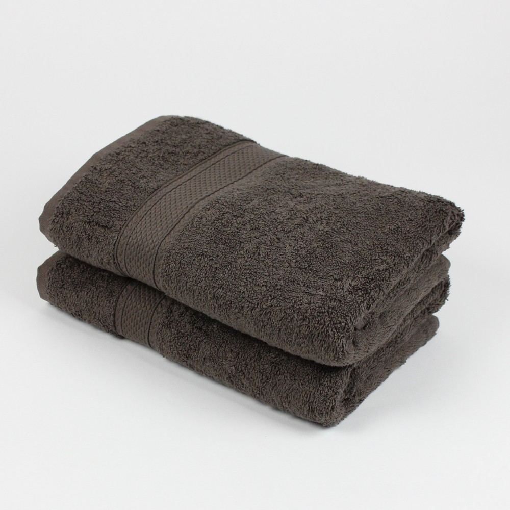 lot de 2 serviettes de toilette vend me moka linge de bain. Black Bedroom Furniture Sets. Home Design Ideas